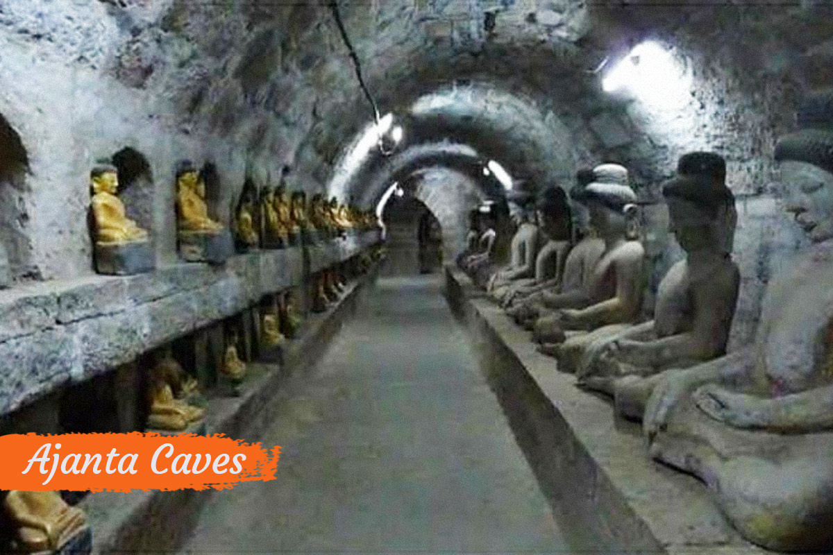 State Tourist Attractions India Ajanta