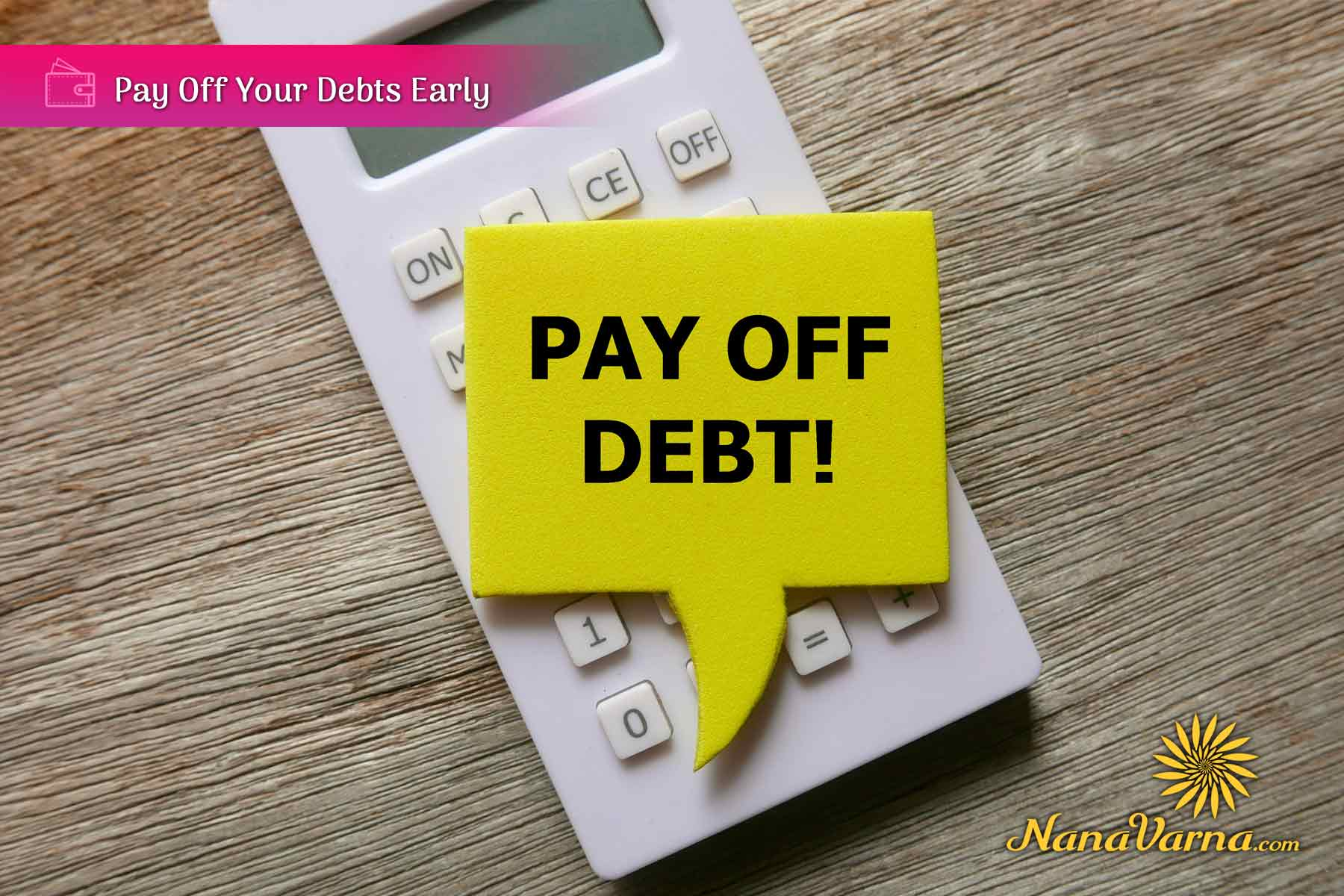 14 pay off your debts
