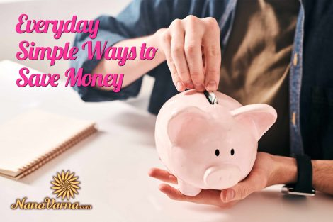 Simple ways to Save Money