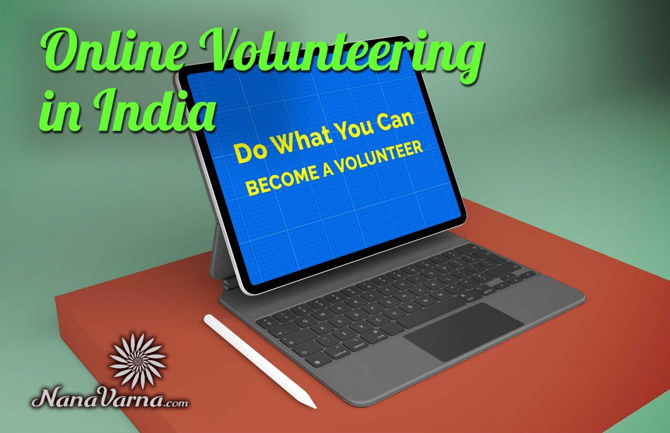online volunteering in india