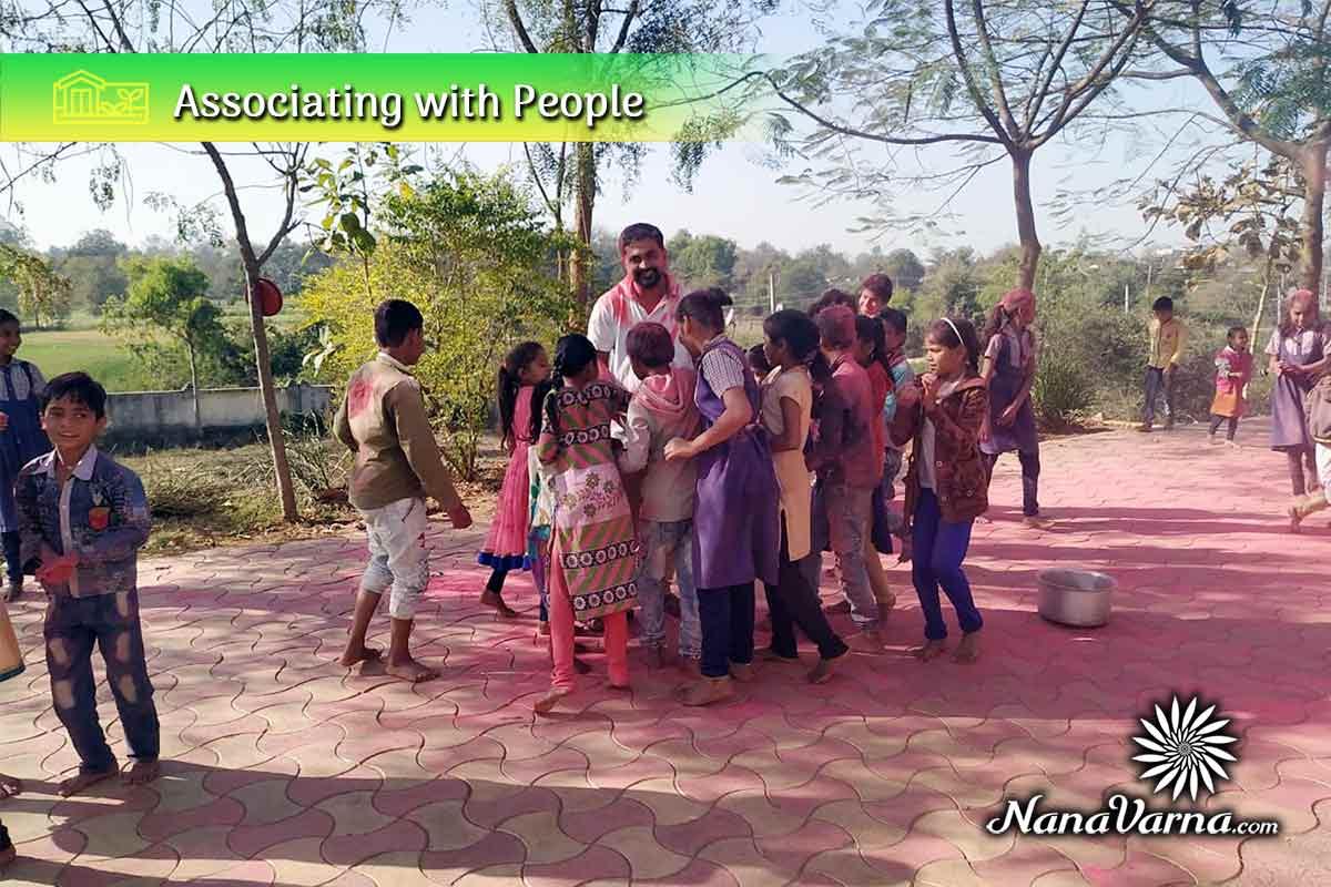 indian village life 05