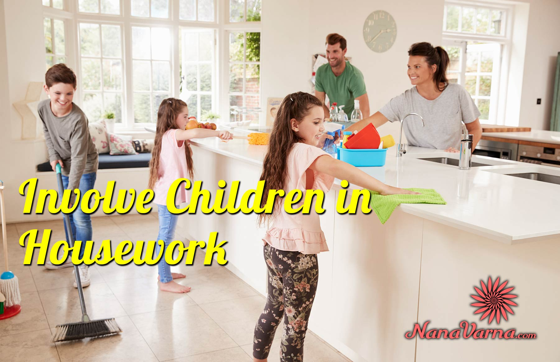 Involve Children in Housework